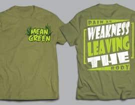 Nro 11 kilpailuun Mean Green Logo and catchphrase for team shirts käyttäjältä arafatrahman913