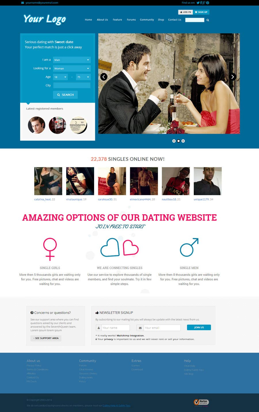 the latest dating site
