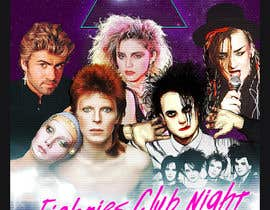 #48 for I need some Graphic Design (80s Club Night Poster) by zhoocka