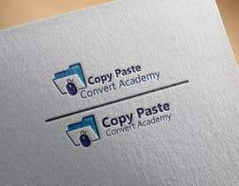 #11 para Create Logo For Copy Paste Convert Academy de Zainulkarim93