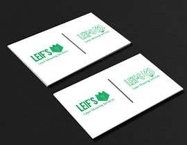 "#4 untuk Business card logo and design.  Description - "" Leif's Lawn Mowing Services ""  Please contact Leif for a free quote today on: 04 ***** number will be provided to winner.      FYI ** This is for a lawn mowing business ** oleh khorshedkc"