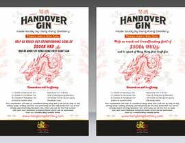 #64 cho Design a crowdfunding pamphlet for Handover Gin bởi SaxenaKuldeep