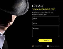 "#41 для Build a creative, single page ""Domain for sale"" HTML Template от apolloart2018"