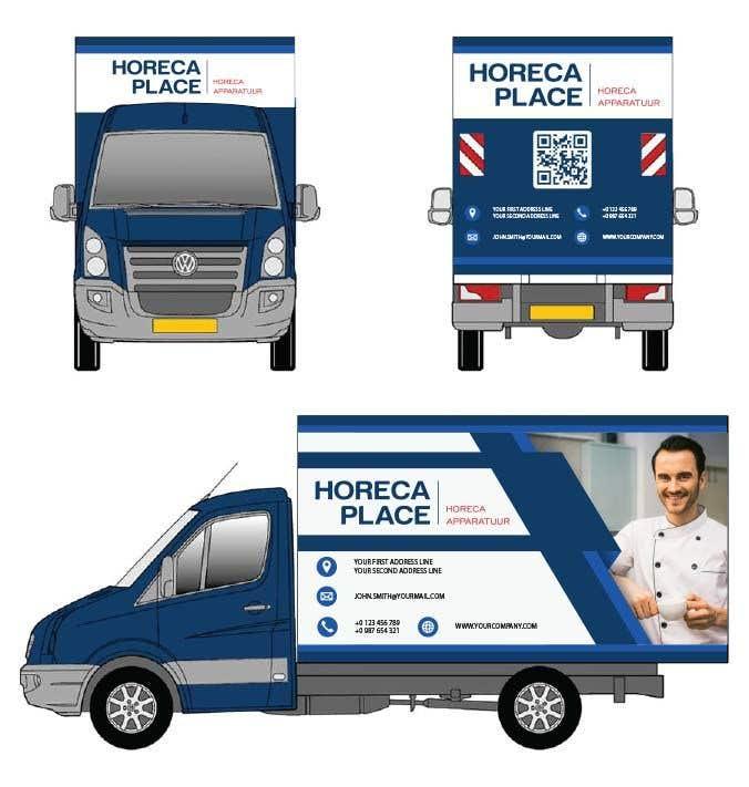 Penyertaan Peraduan #30 untuk I am looking for a nice design for our company van
