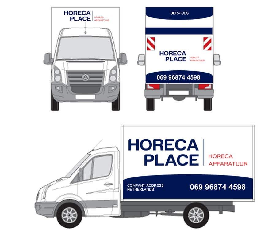 Penyertaan Peraduan #31 untuk I am looking for a nice design for our company van