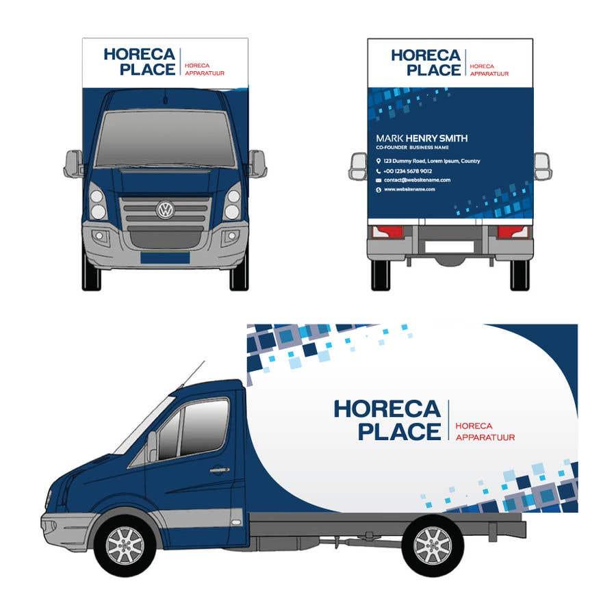 Penyertaan Peraduan #40 untuk I am looking for a nice design for our company van