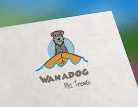 Nro 42 kilpailuun Logo for Wanadog Pet Treats käyttäjältä dobreman14