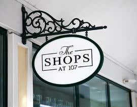 Nro 1170 kilpailuun The Shops at 107 needs a logo käyttäjältä colorcmykal