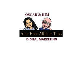 """#13 for Logo for """"Late Night Affiliate Talks with Kim & Oscar"""" Podcast by Harun1556"""