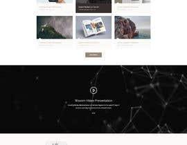 nº 23 pour Design  a Website Mockup par hr797556