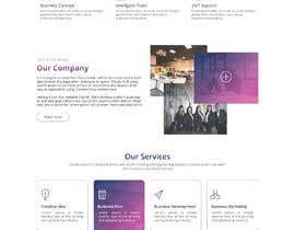 nº 36 pour Design  a Website Mockup par dreamplaner