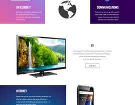nº 21 pour Design  a Website Mockup par csatya