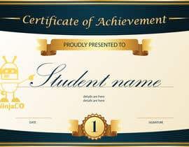 #1 untuk I need a certificate oleh kurabika00