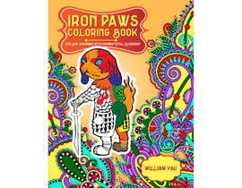 #20 for Need a cool font and back cover graphic for coloring book by sudhalottos