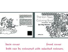 #11 for Need a cool font and back cover graphic for coloring book by niluferkaranfil