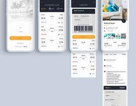 Nro 19 kilpailuun Design travel agency app käyttäjältä blackdahlia24