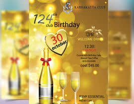 #36 for Design a Club Birthday flyer by GraphicHunters06