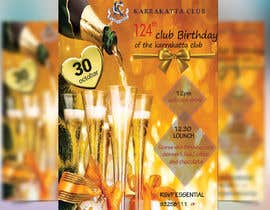 #40 for Design a Club Birthday flyer by GraphicHunters06