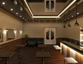 Nro 5 kilpailuun 3D design and walk through of bar concept käyttäjältä astanehsalar