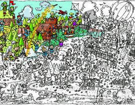 "#6 for Make a ""Where's Wally/Waldo?""-style A4 image af chris2845"