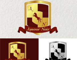 #16 untuk I need a crest logo designed.  The company name is Amour Noir, I will provide you with 3 of the logos that we use. You can use any  combination or all 3.  For inspiration, I really like the the Porsche logo oleh DonnaMoawad