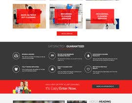 meenapatwal tarafından Design a One Page Website for a cleaning Company Service için no 6