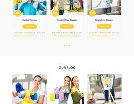 ihprince9 tarafından Design a One Page Website for a cleaning Company Service için no 42