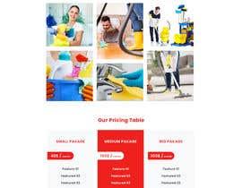 #41 для Design a One Page Website for a cleaning Company Service от mahmudurrahman51