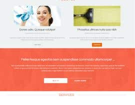 adnanbahrian tarafından Design a One Page Website for a cleaning Company Service için no 40
