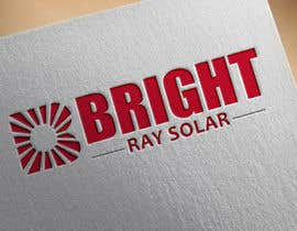 Nro 67 kilpailuun Company Logo for Bright Ray Solar käyttäjältä aga5a2985f45d9e4