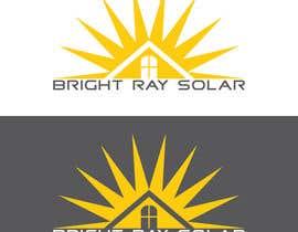 Nro 76 kilpailuun Company Logo for Bright Ray Solar käyttäjältä JuliaRider