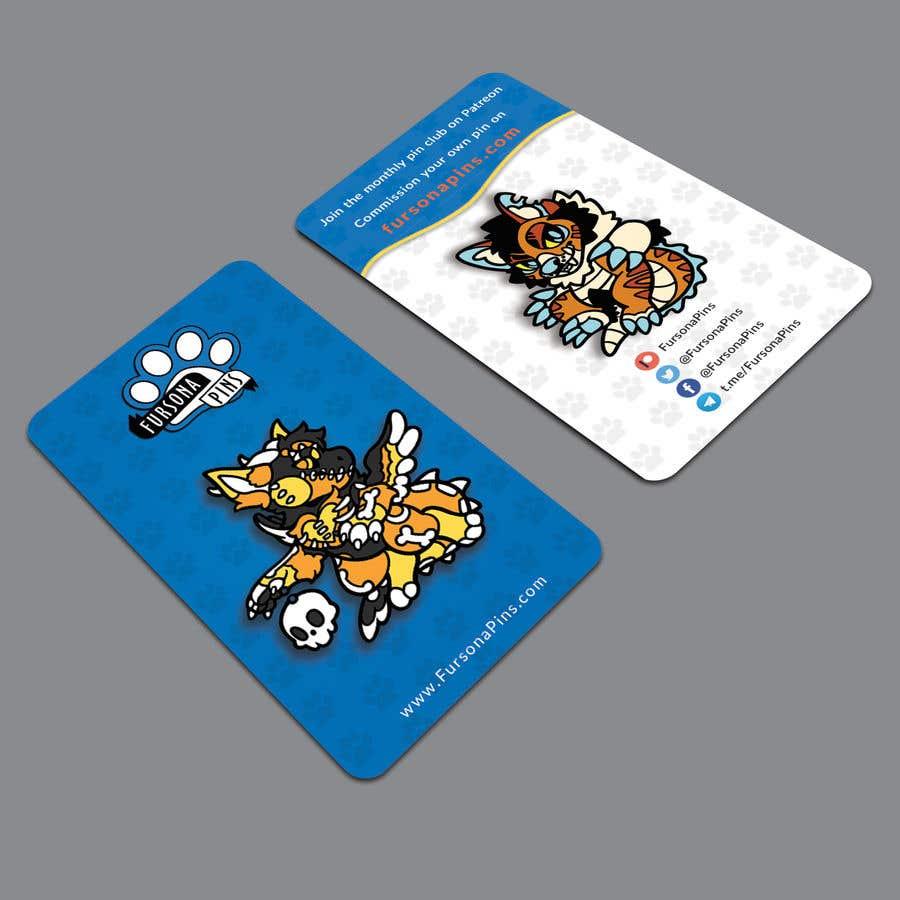 Bài tham dự cuộc thi #264 cho Design a business card for enamel pins