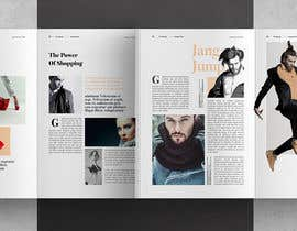 #6 for A4 magazine designed af yadavsushil