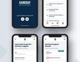 #7 for Gameday Decisions Web and Mobile SaaS Application Mockup by nizagen