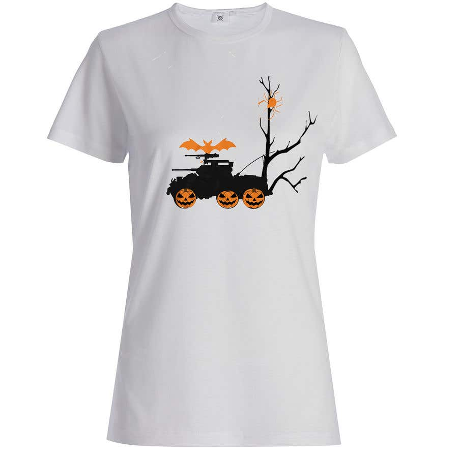 Contest Entry #21 for Design a Halloween t-shirt (for tankers)