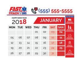 #53 para Design Desk Calendar Header por smshovon19