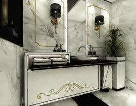 #13 for Powder room/ small washroom interior design by LaVirtuary