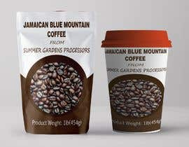 #4 for Jamaican Blue Mountain Coffee Product Label by femolacaster