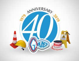 #12 para 40th Anniversary logo design for company. por gastnportal
