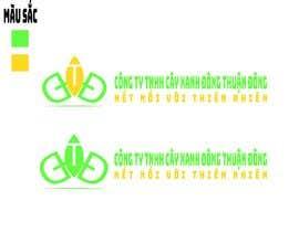 nº 2 pour Design logo for  Công ty TNHH Cây Xanh Đông Thuận Đông par MuqeettheLegend