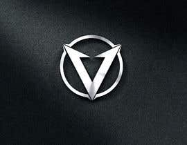 #22 untuk Simple V letter logo monogram/penrose triangle oleh Logozonek