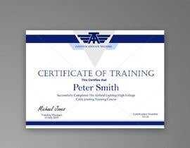 #38 for Please make this certificate more professional and editable by d3stin