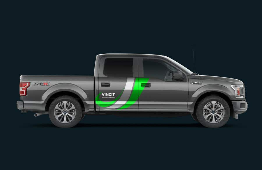 1048ff73d6 Entry  28 by rufom360 for Company Truck Graphics Design Competition ...