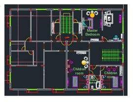 #8 untuk make interior furniture layout for residential villa oleh rabbiyakhan