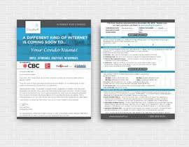 Nro 84 kilpailuun Design a Flyer (front and back page) käyttäjältä tishaakter179