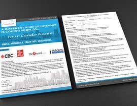 Nro 17 kilpailuun Design a Flyer (front and back page) käyttäjältä Farzanapina