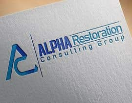 #5 untuk Compmay name  ALPHA Restoration Consulting Group  Need complete set of logos ready gor web, print, or clothing. This will also end up on vehicles also.   Tactial is style to show our covert nature. oleh RIckoDandys