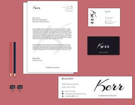 #87 para design letterhead,email footer, business card, website landing page and street sign using my logo de Srabon55014