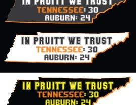 #5 for Tennessee Football Tee Shirt Design by rony333