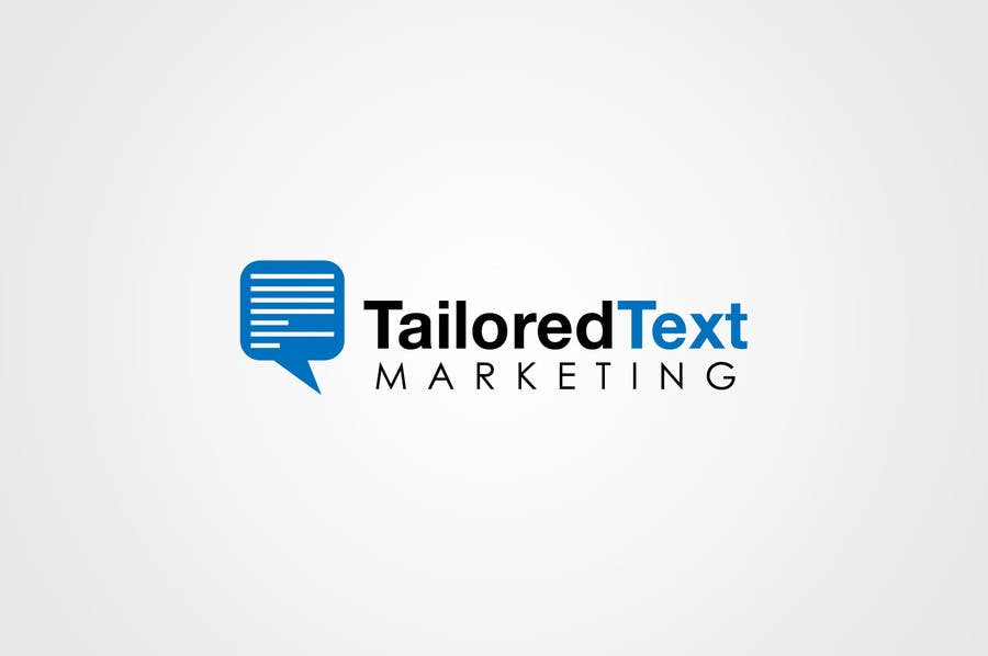Proposition n°                                        16                                      du concours                                         Logo Design for Tailored text marketing